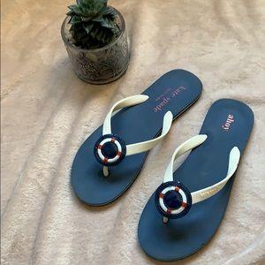 🌸🏝Kate Spade flip-flops Ahoy